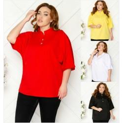 Женская блуза Батал 13542A