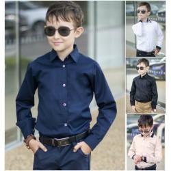 Детская школьная рубашка 13637A