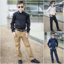 Детские школьные брюки 13638A