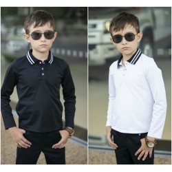 Детская школьная рубашка 13639A