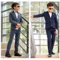Детский костюм пиджак с брюками 13648A