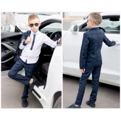 Детский костюм пиджак с брюками 13663A