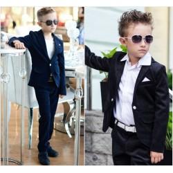 Детский школьный вельветовый костюм 13671A