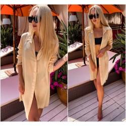 Пляжная накидка-рубашка 13693A