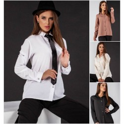 Женская стильная рубашка 13784A