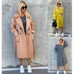 Женское кашемировое пальто 13985A