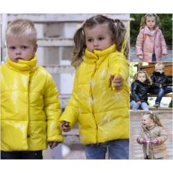 Детская блестящая куртка 14119A