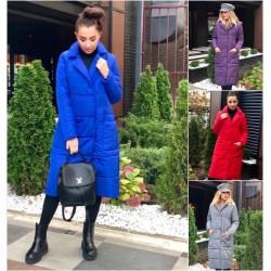 Женское зимнее пальто с капюшоном 14263A