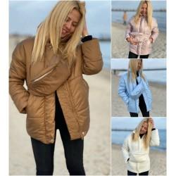 Женская теплая куртка с бананкой 13969A