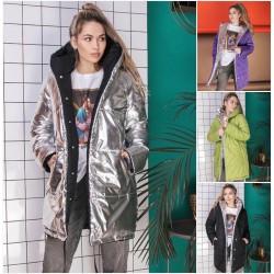 Женская зимняя двухсторонняя куртка 14491A