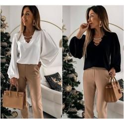 Женская блуза с широкими рукавами 14511A