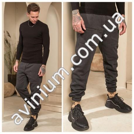 Мужские теплые спортивные штаны 14616A-1