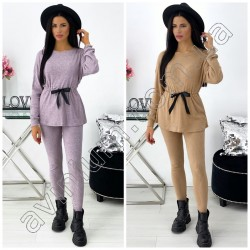 Женский костюм кофточка со штанами 14659A