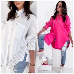 Женская удлиненная рубашка 14681A
