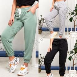 Женские спортивные штаны Батал 14838A