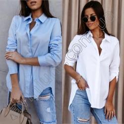 Женская котоновая рубашка 14839A