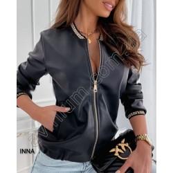 Женская куртка Экокожа 14765A