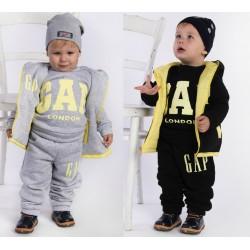 Детский теплый костюм тройка 11621A