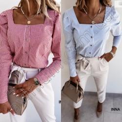 Женская котоновая рубашка 14774A