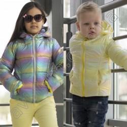 Детская блестящая куртка 14790A