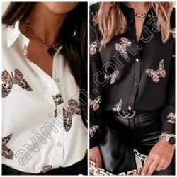 Женская блуза Принт 14796A