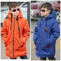 Подростковая двухсторонняя куртка для мальчиков 14812A