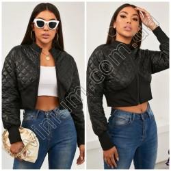 Женская короткая стеганная куртка 14818A