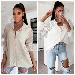 Женская рубашка с карманами 14825A