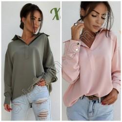 Женская свободная блуза 14848A