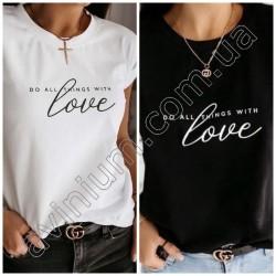 Женская футболка с надписью 14863A