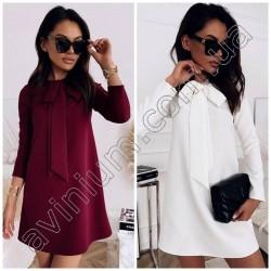 Свободное короткое платье 14922A