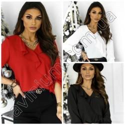 Женская блуза с рюшами 14928A