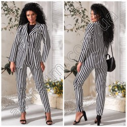 Женский костюм пиджак с брюками 14946A