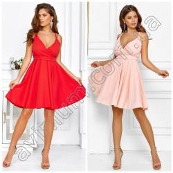 Летнее платье с пышной юбкой 14962A