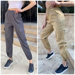 Женские брюки с карманами 14963A