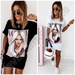 Женская футболка-туника 14965A