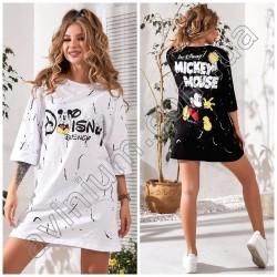 Женская футболка-туника 14968A