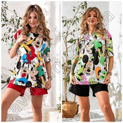 Женская футболка-туника 14969A