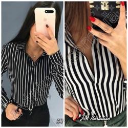 Женская рубашка в полоску 14993A