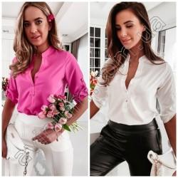 Женская блуза верх на пуговицах 15035A
