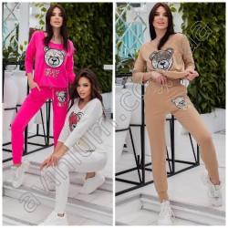 Женский костюм кофточка со штанами 15063A