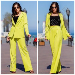 Женский костюм пиджак с брюками 15108A