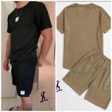 Мужской костюм футболка с шортами 15168A