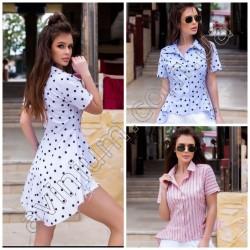Женская удлиненная блуза 15204A