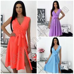 Летнее платье на запах 15340A