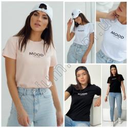 Женская футболка с надписью 15245A