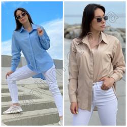 Женская котоновая рубашка 15303A