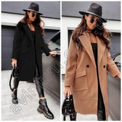 Женское кашемировое пальто 15554A
