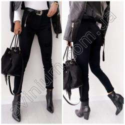 Женские брюки с карманами 15578A