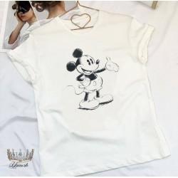 Женская футболка Принт 12784A